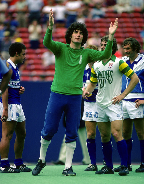 Whitecaps 79 Goalie Phil Parkes, Rowdies Soccer Bowl
