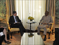 U.S. Department of the Treasury: Treasury meets with Nigerian President (Thursday Jul 23, 2015, 11:54 AM)