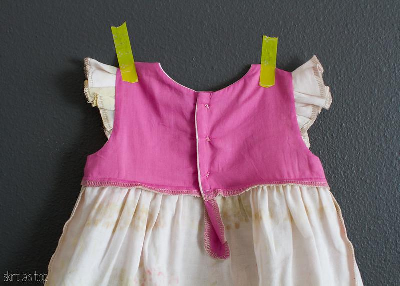 spectacle geranium dress