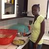 Phara ap prepare manje pou klas mizik la jodia. Mesi anpil Phara pou bon ze ou te prepare pou nou. #winter