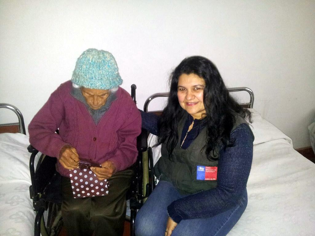 AFSAG Región de O´Higgins realiza actividad benéfica para Hogar de Ancianas San José - 4 Agosto 2015