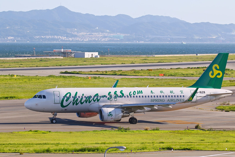 B-1628 春秋航空 Spring Airlines Airbus A320-200