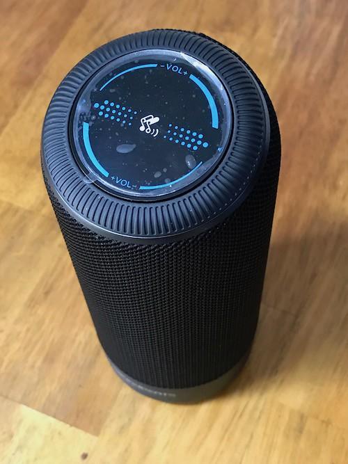 SoundPEATS Bluetooth スピーカー P4本体