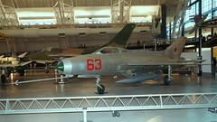 Mikoyan-Gurevich MiG-21F-13 in Udvar Hazy Center