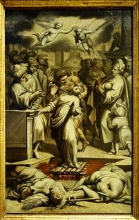 תמונה של Sforza Castle ליד Milano. milan italy sforzacastle castellosforzesco camilloprocaccini italianart throatcutting martyr stagnes torture throatstabbing