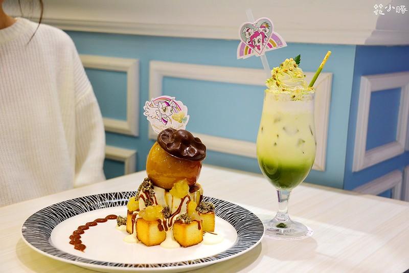 跳舞香水板橋下午茶推薦親子餐廳菜單彩虹小馬 (23)