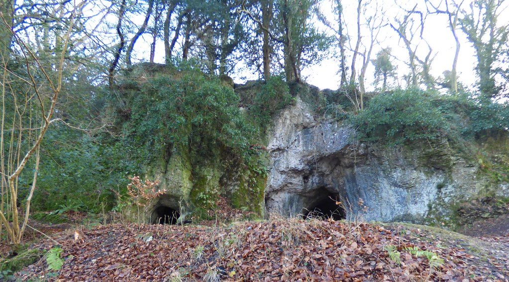 King Arthur's Cave Outside In
