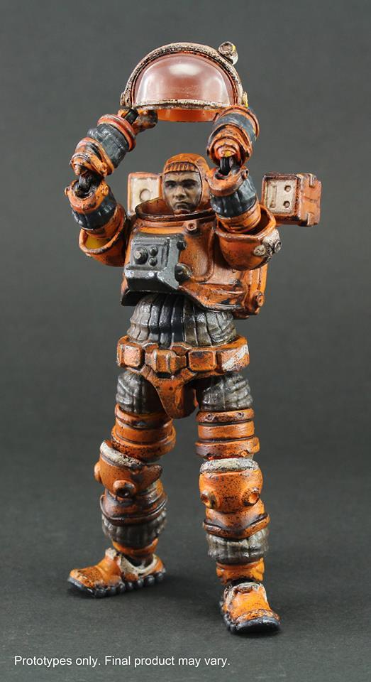 Ori Toy - 《酸雨戰爭》3.75吋系列 太空囚犯 Acid Rain Space Prisoner