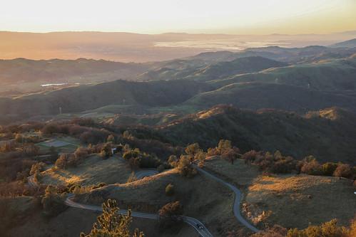 goldenhours sanjose california mountain mthamilton