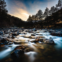 Poudre River Sunset