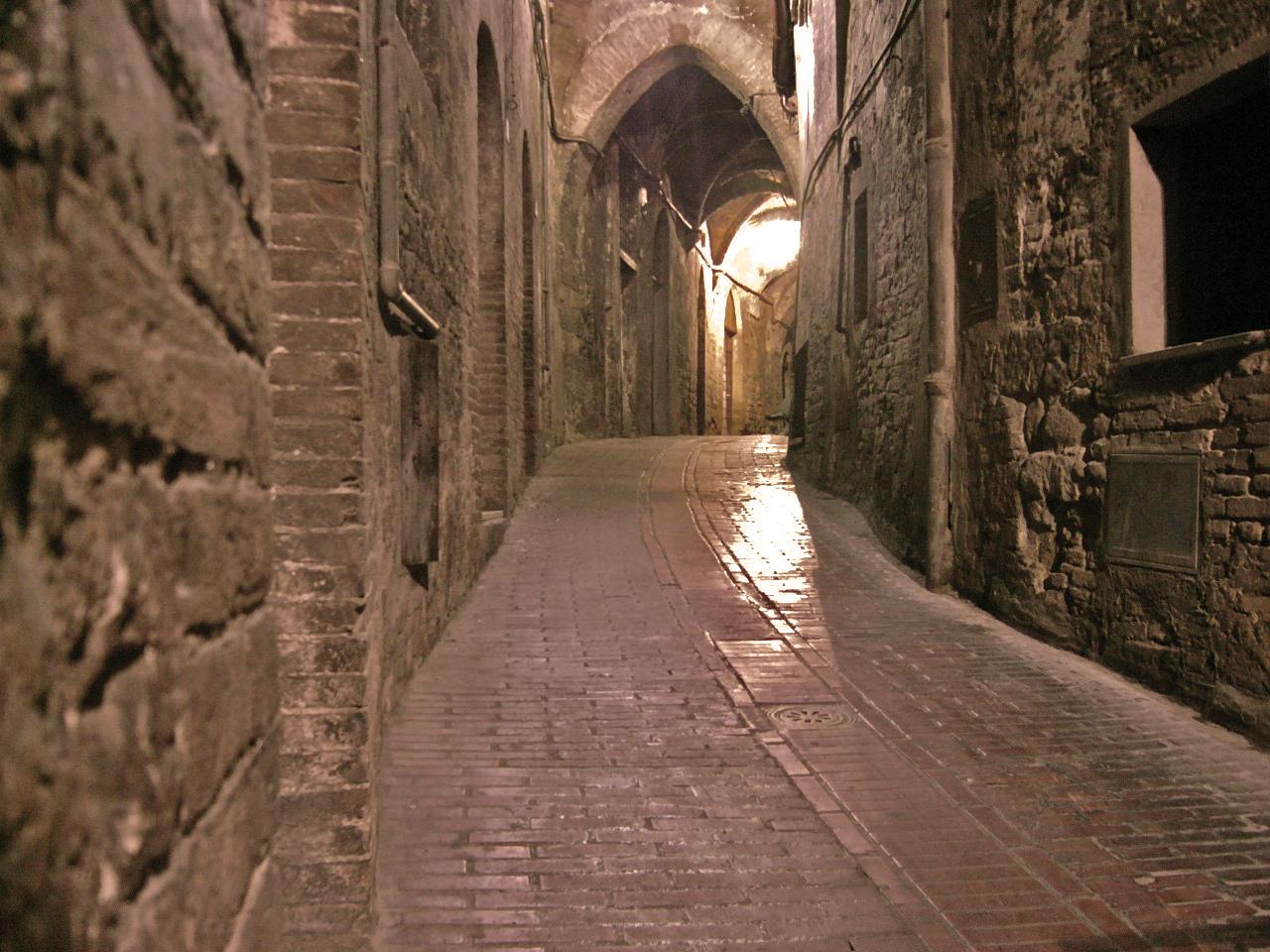 Calles medievales. Foto de Ale