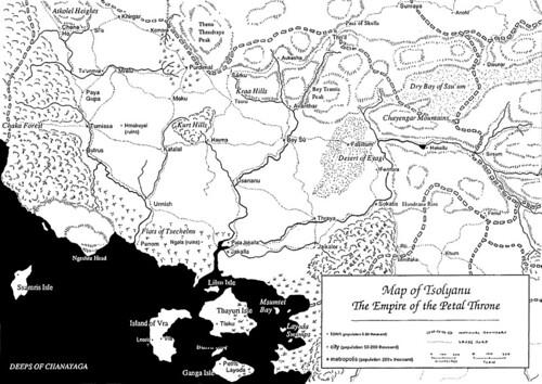 Tekumel Map Detailed Tekumel Map From The Eye Of All Seein Flickr