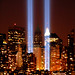 "NYC Twin Lights 9/11""Tribute in Lights""  Memorial 2005"