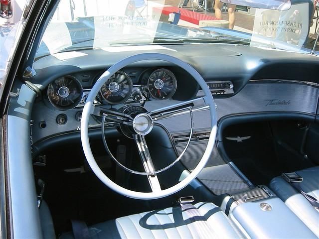 1962 Thunderbird Interior Flickr Photo Sharing