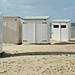 Knokke - beach cabins