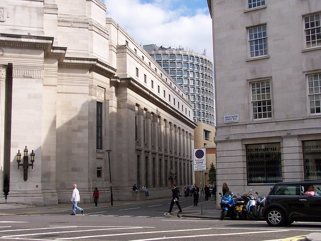 Side of Freemasons Hall