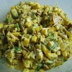 Geflügel-Salat mit Avocado und Mango