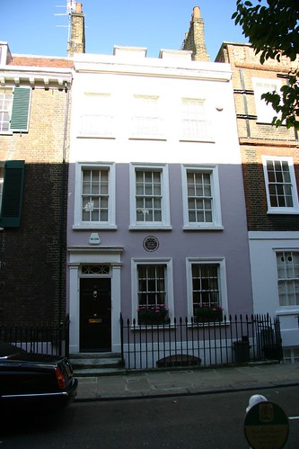 Leigh Hunt's house, Chelsea