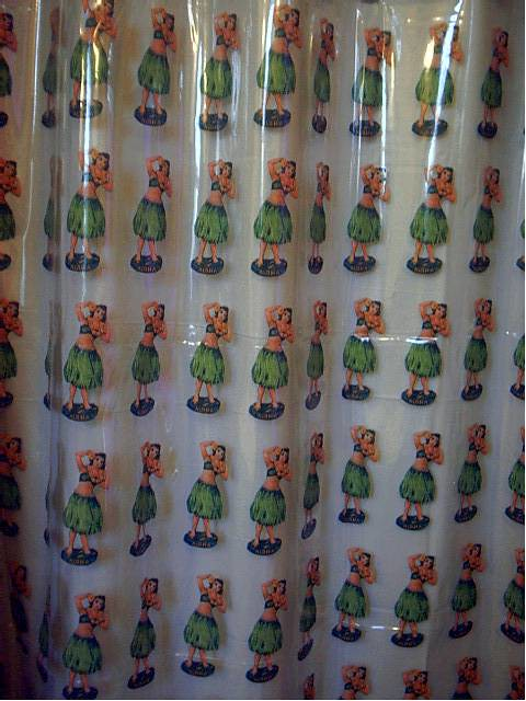 hula girls shower curtain flickr photo sharing