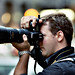 Film fun: Mark and his 80-200 beast. by Ryan Brenizer