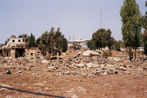 Quneitra Wreckage and the UN