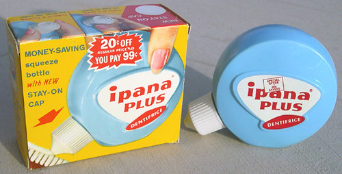 Ipana Plus Tooth Paste, ca. 1960's
