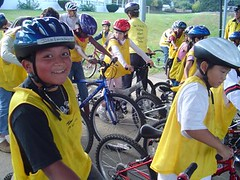BTA Bike Safety Class at Prescott Elementary