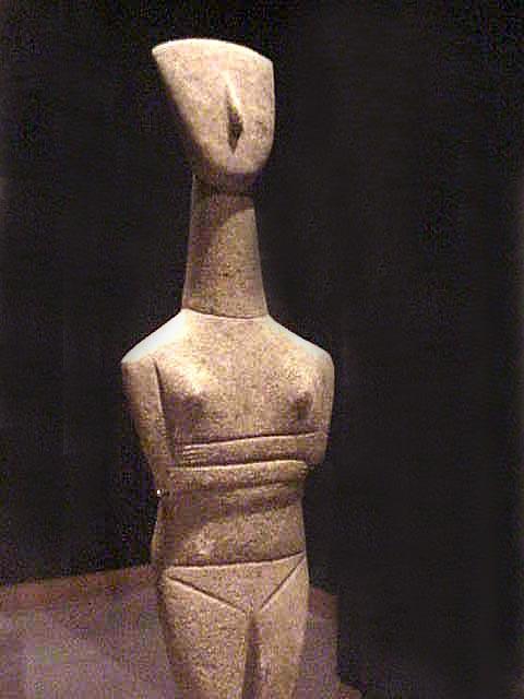 Cycladic Figurine Goulandris Master 2500 2400 Bc Early