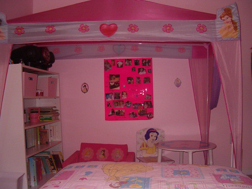 She had a free-standing canopy over her bed which she really wanted to make into a  library.  Inside the canopy are her bookshelves her table and ... & PRINCESS CANOPY BEDS FOR GIRLS : BEDS FOR GIRLS