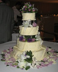 sugar paste(0.0), quinceaã±era(0.0), wedding ceremony supply(1.0), cake(1.0), flower(1.0), buttercream(1.0), purple(1.0), food(1.0), cake decorating(1.0), icing(1.0), floristry(1.0), torte(1.0), wedding cake(1.0), pink(1.0),