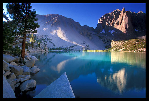 Second Lake, High Sierra