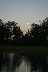 Moon Rising as the Sun Sets