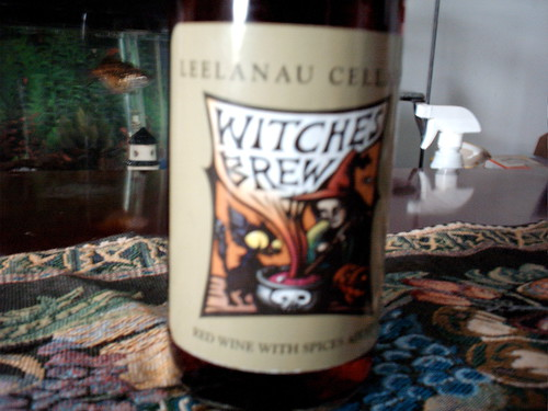 Spiced Halloween wine from Meechigan