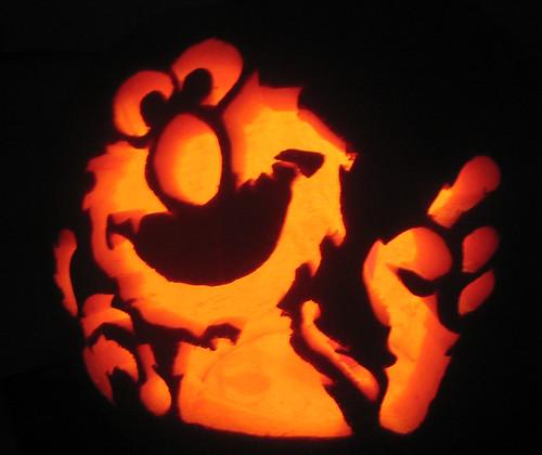 Jack O' Lantern - Elmo