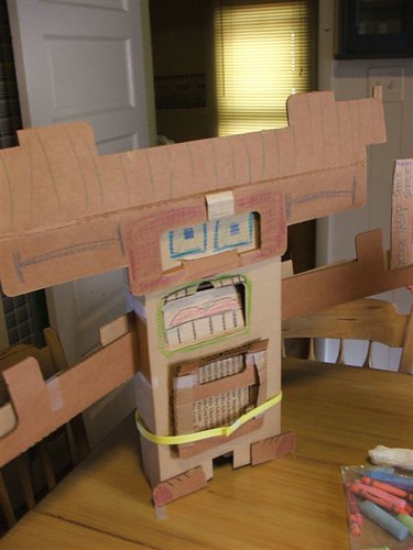 bo cardboard robot reading - photo #24