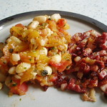 Rezepte von Gary Rhodes: Bacon and Beans 001