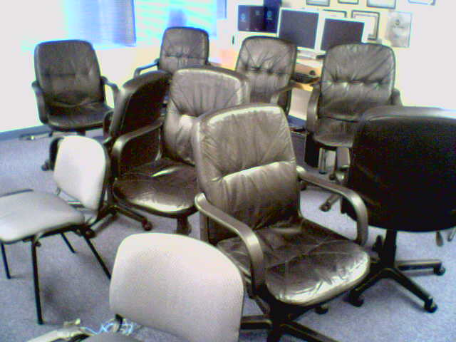lots of chairs