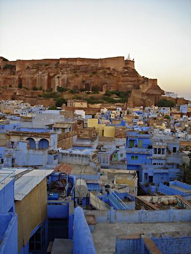 Jodhpur rooftops & fort