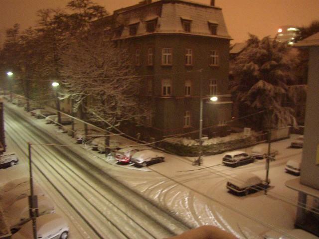 Snow In Frankfurt Flickr Photo Sharing