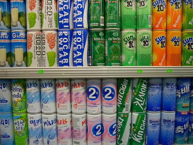 Korean Grape Soft Drink Kt Mart