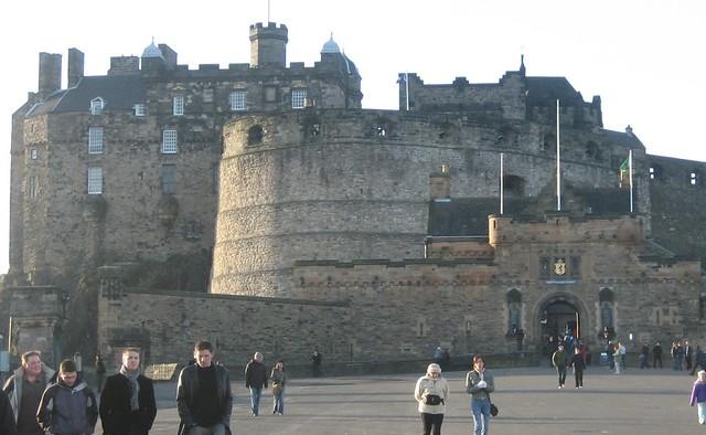 Edinburgh Castle by CC user icelight on Flickr