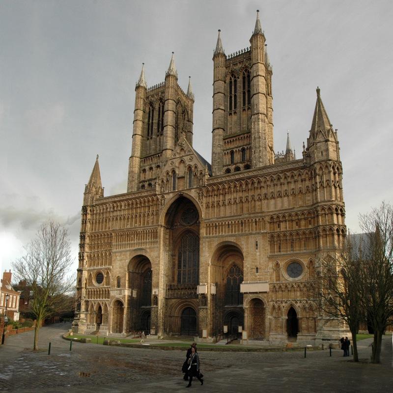 Fachada de la Catedral de Lincoln
