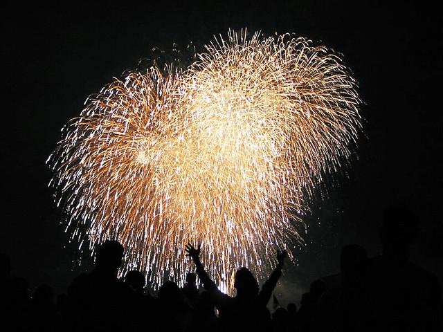 Fireworks at Gasworks