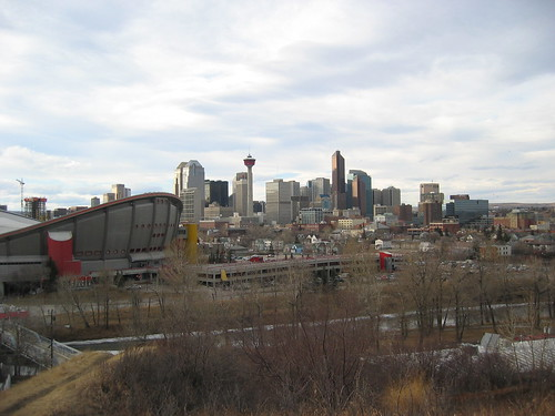 Skyline View of Calgary
