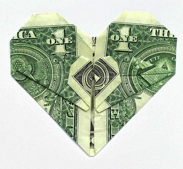 Dollar Heart