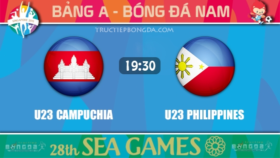 U23 Campuchia vs U23 Philippines