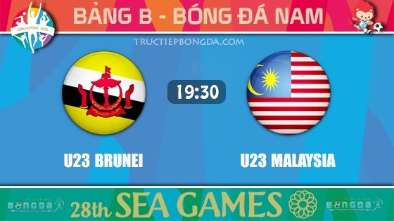 U23 Brunei vs U23 Malaysia