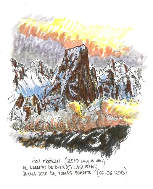 El Naranjo de Bulnes (2.519 m.s.n.m.)