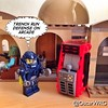 #LEGO_Galaxy_Patrol #LEGO #StarWars #Tatooine #Arcade #MosEisley #Cantina #MosEisleyCantina #TrenchRun #LEGOarcade @StarWars @lego_group @lego @bricknetwork @brickcentral Arcade designed by @powerpig