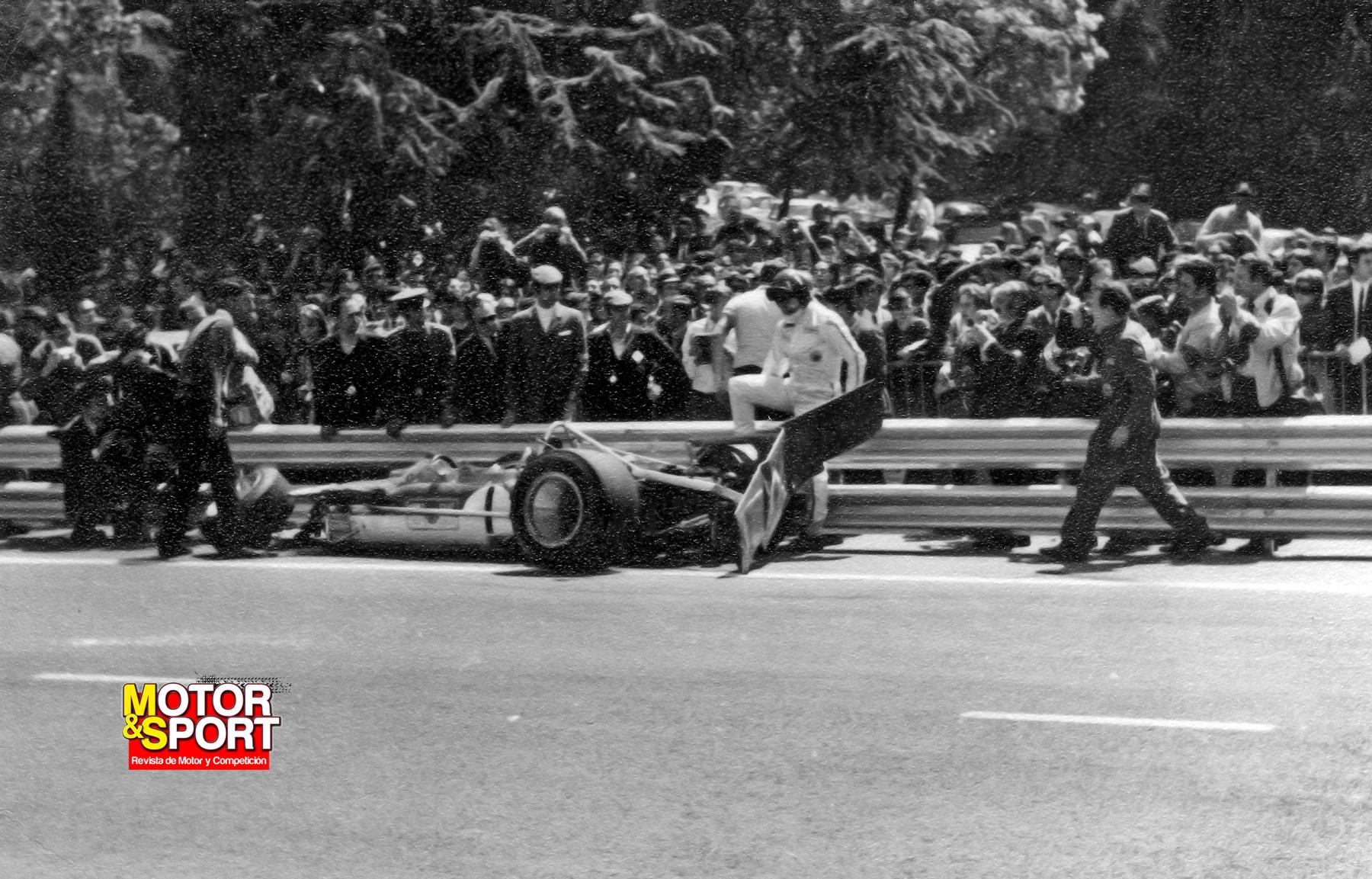 Numero 3. Gran Premio de España de Formula 1 1969 18795530218_ac364459ec_o